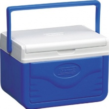Coleman 520Lid 5A758G Kühlbox Fliplid 5 blau/weiß Bild 1