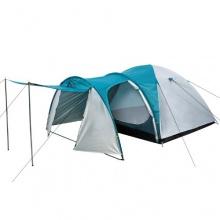 CampFeuer,Kuppelzelt Zelt mit Vorbau für 3-4 Personen Bild 1