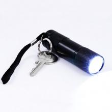 CSL - 9 LED Taschenlampe energiesparend 9cm  Bild 1