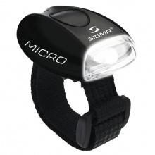 Sigma Sport Fahrrad Frontlicht LED weiß Micro schwarz Bild 1
