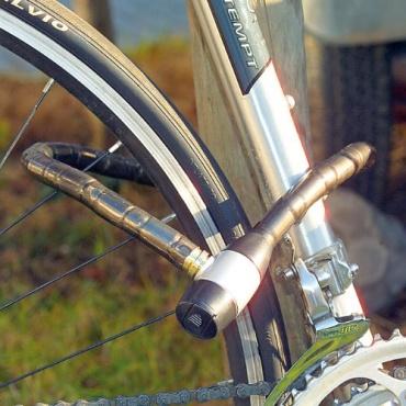 infactory Stahl-Fahrradschloss Bild 1
