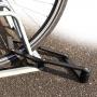 Relaxdays Fahrradschloss Falt Schwarz Bild 1