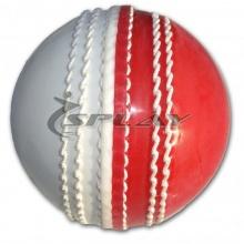 Splay Cricket-Ball für Hallensport, PU Double Colour Bild 1
