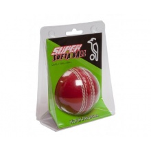 KOOKABURRA Super Soft Cricket-Trainingsball, Rot, 10-15 Jahre Bild 1