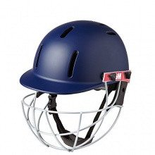 GUNN and MOORE Purist Cricket Helm, Marineblau, Kinder Bild 1