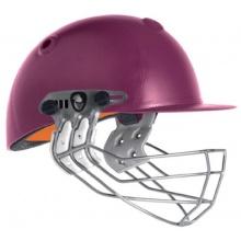 Elite Premiere Cricket Helmet Maroon Medium Bild 1