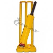 Kwik-Cricket-Komplettset Kunststoff Gelb 5 von Splay Bild 1
