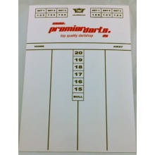 Darts Starter-Set inkl. Blade 4,Backboard  Bild 1