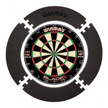 Surround Backboard von WINMAU für Dartboard, schwarz Bild 1