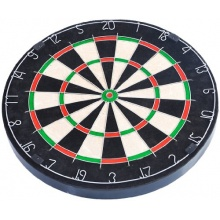 FA Sports Dartscheibe Spick Real-M, 46x46x4, 902 Bild 1
