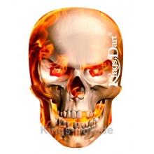 Kings Dart Dart Flight Fire Skull Bild 1