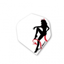 Red Dragon Darts Devil Girl Iflight 12 Dart Flights Bild 1