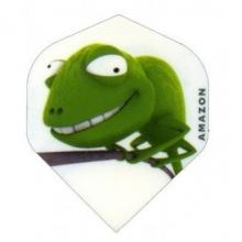 Amazon Strong 3D Comic Motive Dart Flights Gecko Bild 1