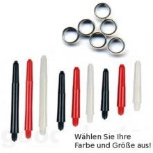 9 Nylon Dart Schäfte mit Ringen von good-darts Bild 1