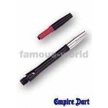 6 Empire Dart-Schäfte Aluminium mit Top-Spin 4,5cm Bild 1