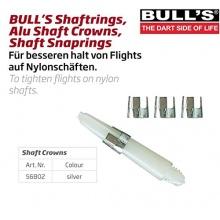 Bulls 3 Stück Dart Schaft Kronen Krone für Dartpfeile Bild 1