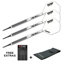 RED DRAGON DARTS PEGASUS TUNGSTEN SOFT DARTPFEILE,18g Bild 1