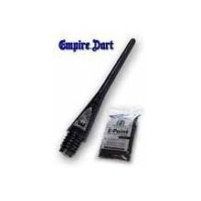 100 EMPIRE Dart E-Point Dartspitzen 2 BA lang(schwarz) Bild 1