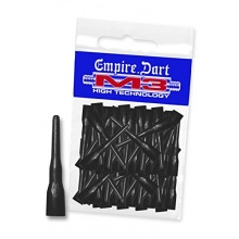 EMPIRE Dart M3 Dart-Spitzen Schwarz lang 50 Stk. Bild 1