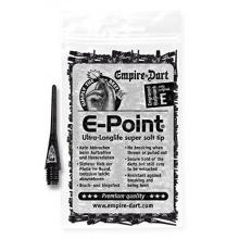 E-Point Dartspitzen 2BA Schwarz von Empire Dart Bild 1