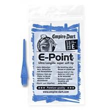 100 EMPIRE E-Point Dartspitzen 2 BA lang(blau) Bild 1