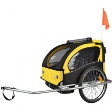 Tiggo Fahrradanhänger mit Jogger 2 in 1 Bild 1