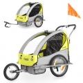 Froggy® JBTC05 Fahrradanhänger Jogger in Sunny Bild 1
