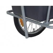Monz Fahrradanhänger BIG CARGO 20 Reifen 90l TÜV/GS Bild 1