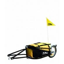 M-Wave Einspur Gepäck Fahrradanhänger Single 40 gelb Bild 1
