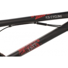 KS Cycling Fahrrad BMX Freestyle Fatt, Schwarz, 20 Bild 1