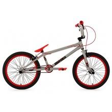 KS Cycling Fahrrad BMX Freesyle 20zoll silber-rot  Bild 1