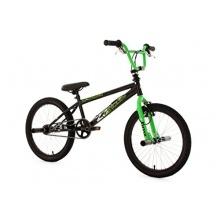 KS Cycling Fahrrad BMX Freestyle Circles, Grün, 20zoll Bild 1