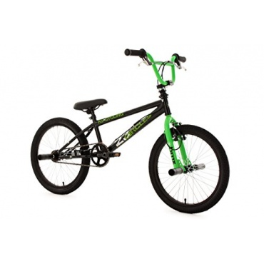 ks cycling fahrrad bmx freestyle circles gr n 20zoll test. Black Bedroom Furniture Sets. Home Design Ideas