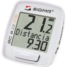 Sigma Fahrradcomputer BC 8.12 ATS weiß Bild 1