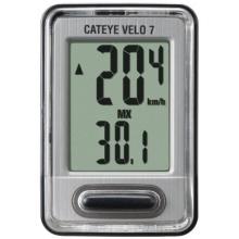 Cateye Fahrradcomputer VELO7 CC-VL520 silber  Bild 1