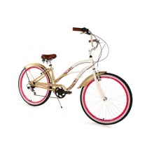 KS Cycling Damen Beachcruiser Cherry-Blossom,Bronze,26 Bild 1