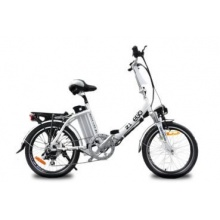 Nitro Motors Elektro Fahrrad Klapprad E-GO!36V Silber Bild 1