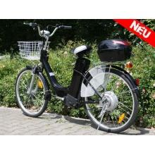 Nitro Motors Elektro Fahrrad E-Bike 36V 26Zoll Silber Bild 1