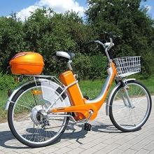 Actionbikes Elektro Fahrrad E-Bike 36V 250W orange Bild 1