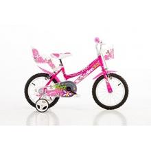14 Zoll 146R Dino Bikes Mädchenfahrrad Kinderfahrrad Bild 1