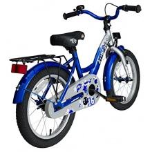 BIKESTAR Premium Kinderfahrrad,ab 4 Jahren,Silber,Blau Bild 1
