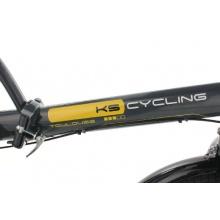 KS Cycling Klappfahrrad Toulouse RH 32 cm, Grau, 20 Bild 1
