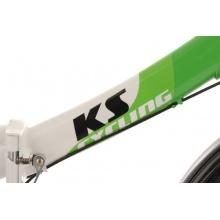 KS Cycling Klappfahrrad 3-Gänge,Grün/Weiss,20Zoll Bild 1