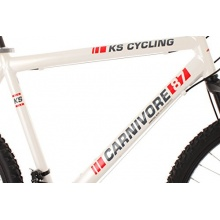 KS Cycling Mountainbike Hardtail Carnivore,Weiß,26 Z Bild 1
