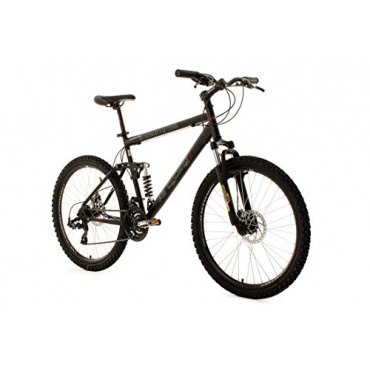 KS Cycling Mountainbike Insomnia,Schwarz,26zoll Bild 1