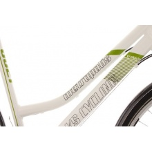 KS Cycling Trekkingrad Alu Metropolis,Weiß,28er Bild 1