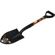 Am-Tech 28 Zoll Pointed Shovel - Fibreglass Handle, U1860 Bild 1