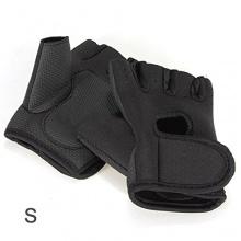 SODIAL (R) Feldhockey Handschuhe - Schwarz S Bild 1
