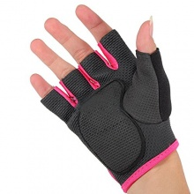 Sonline Feldhockey Handschuh- schwarz mit rotem Rand M Bild 1