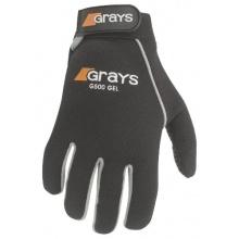 Grays Gel Feldhockey Handschuhe-L, Schwarz / Silber Bild 1